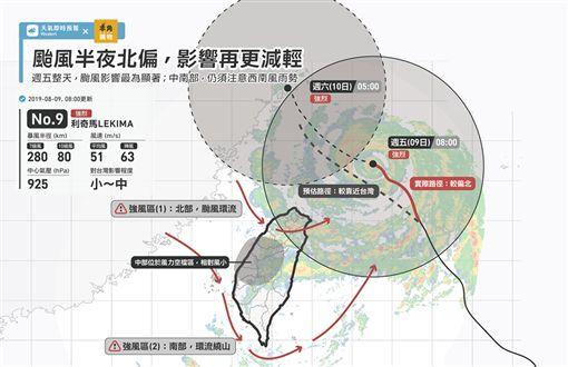 利奇馬颱風,利奇馬,颱風,台灣颱風論壇 天氣特急,強颱,強烈颱風,天氣即時預報