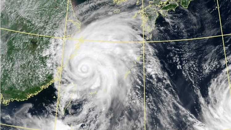 颱風利奇馬強襲沖繩_中央氣象局