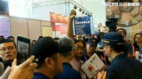 9天內3次!韓國瑜又被民眾「倒讚」嗆聲 長達30秒 圖/翻攝畫面