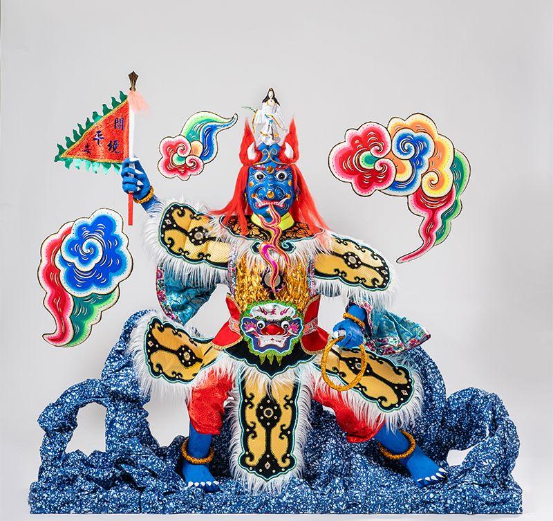 高雄市立美術館2019海外展「極樂天堂」,紙紮文化,台灣之光(圖/翻攝自高雄美術館官網)