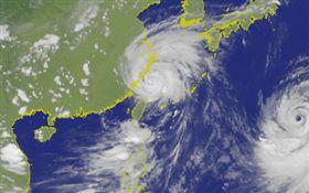 利奇馬17:30陸警解除!中南部留意「西南風甩雨」(圖/翻攝自中央氣象局)