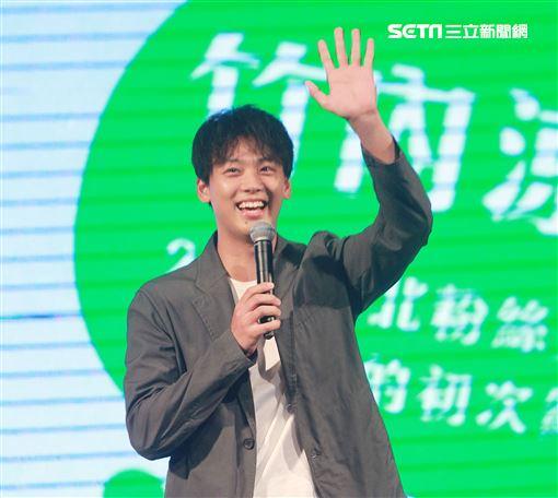 竹內涼真「和你的初次約會」2019台北粉絲見面會。(記者邱榮吉/攝影)