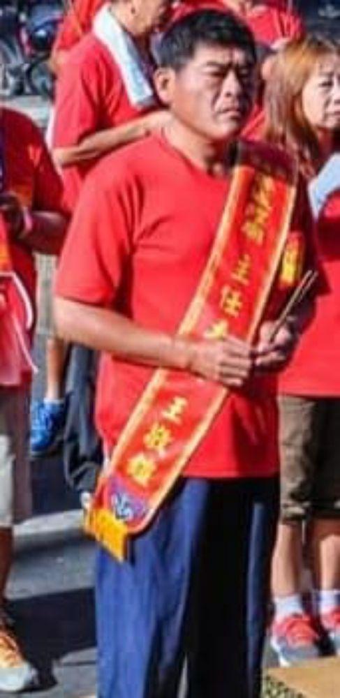王敬鎧,城隍廟主委/翻攝黃國昌臉書