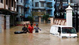 尼泊爾,雨季,洪水,土石流,失蹤,喪命