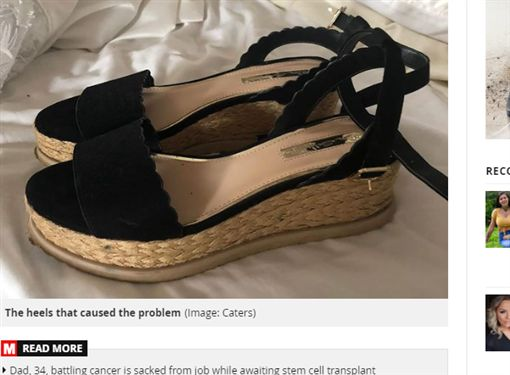 刮腳,磨腳,新鞋,敗血症,模特兒,英國https://www.mirror.co.uk/news/uk-news/model-nearly-lost-leg-after-18837901