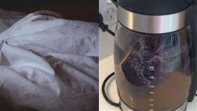 她渡假突月經報到 竟拿「飯店快煮壺沸騰帶血內褲」水變咖啡色網全吐!(圖/翻攝自Pixabay、Reddit)