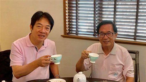 賴清德,陳水扁 圖/翻攝自臉書