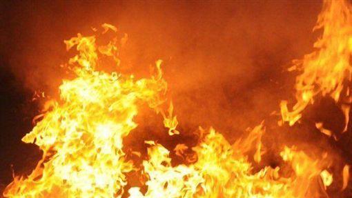 大火,火災,火警(示意圖/翻攝自推特)