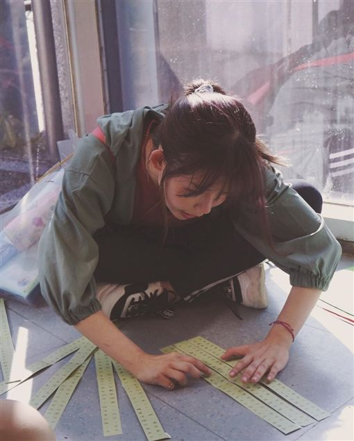 隱乳女神,阿樂/翻攝自阿樂IG ID-2067378