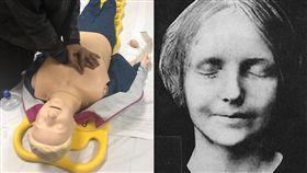 (圖/翻攝自推特)安妮,CPR,塞納河的無名少女