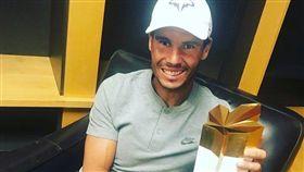 Rafael Nadal。(圖/翻攝自Rafael Nadal臉書)