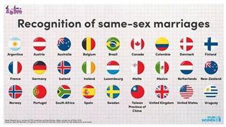 又稱中國台灣同婚合法 聯合國又刪文