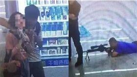 廣西,隨機挾持,槍殺,狙擊,地鐵(圖/翻攝自中國警察網)