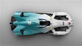 ▲NIO Formula E賽車。(圖/翻攝網站)