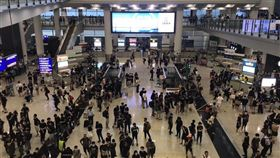(圖/翻攝自黃之鋒 Joshua Wong臉書)香港,機場,反送中