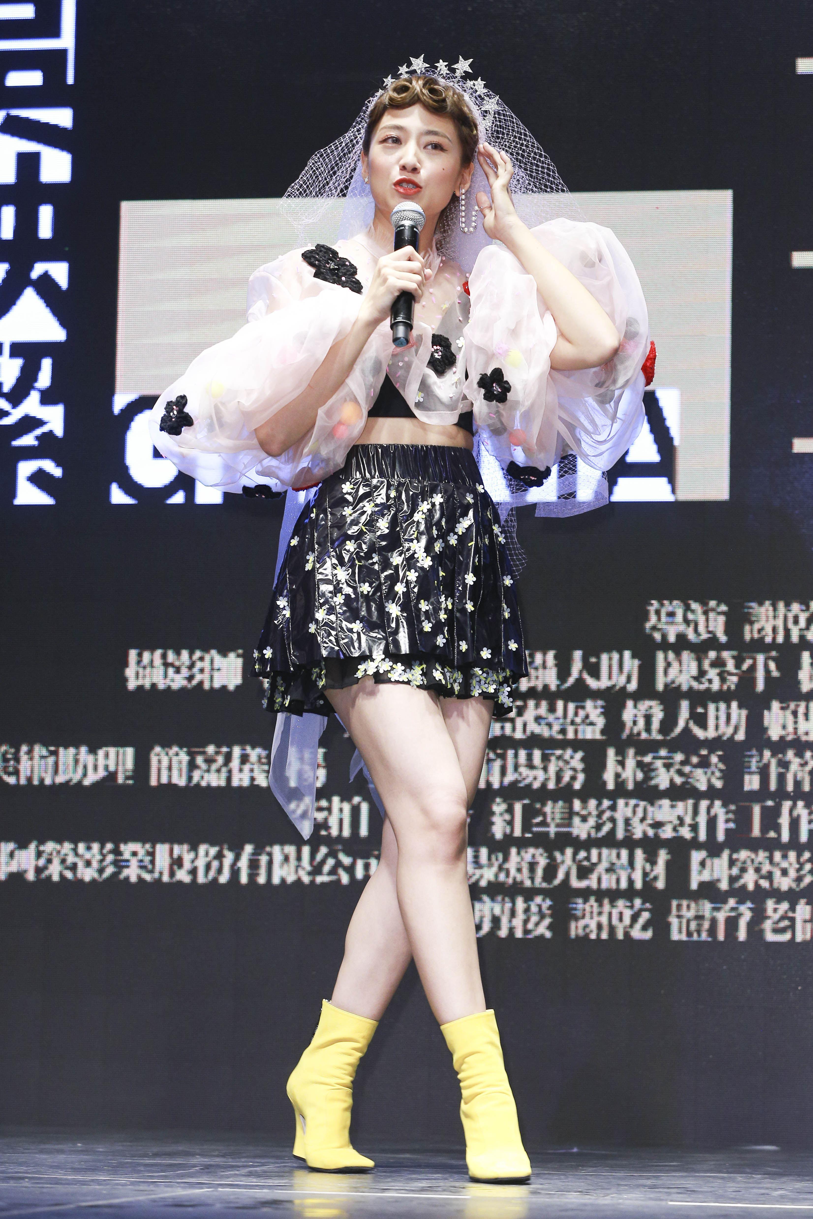 「鬼鬼」吳映潔加盟新東家唱片公司avex taiwan。(圖/記者林士傑攝影)