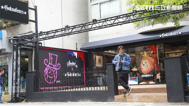 羅志祥新潮店GOTNOFEARS開幕。(圖/記者林士傑攝影)