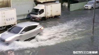 豪雨淹水 吳德榮曝原因:續下到周末