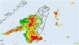 中央氣象局,大雷雨,天氣,高雄,屏東(中央氣象局)