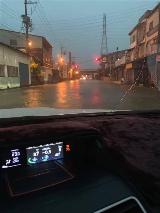 高雄,淹水,災變中心,韓國瑜,黃偉哲,台南