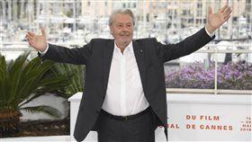 ▲83歲的法國影星亞蘭德倫(Alain Delon)傳出中風。(圖/美聯社)