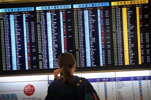 香港機場,恢復,台灣,班機,國泰
