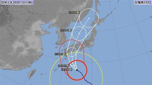 第10號颱風,柯羅莎,日本,半徑,大型颱風