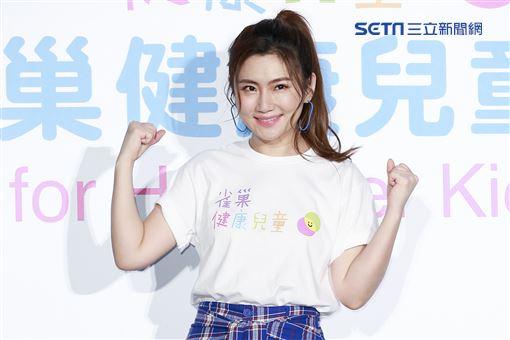 Selina任家萱出席公益活動。(圖/記者林士傑攝影)