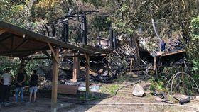 藝文團體「優人神鼓」位於台北市山區的木造排練場,13日上午驚傳火警,建物付之一炬,包含演出用的200多件樂器也遭焚毀。