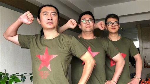 黃安,反送中,港警,暴力,香港(圖/翻攝自微博)