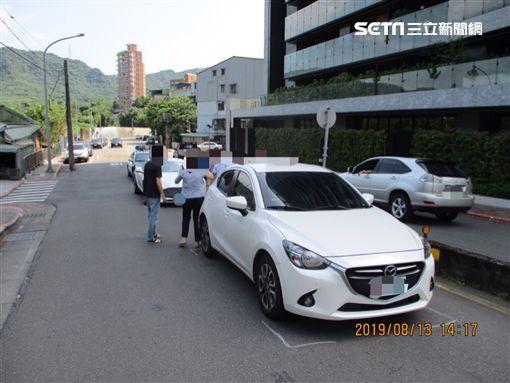 台北,信義區,蕭敬騰,超跑,擦撞