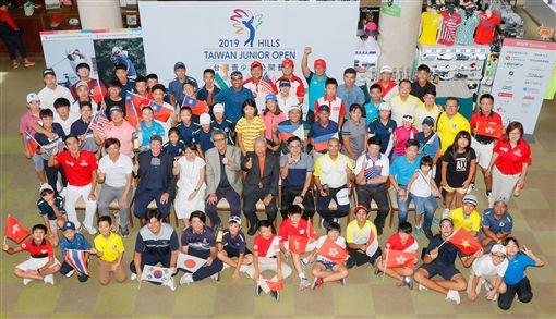 ▲台灣青少年高球公開賽開幕。(圖/大會提供)