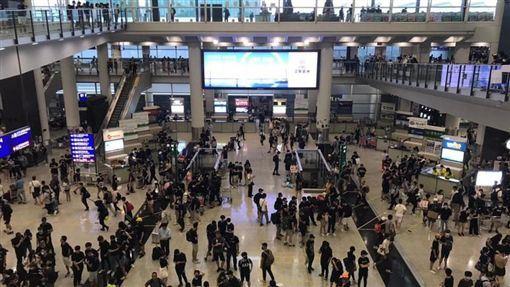 香港,反送中,太古集團,國泰航空,譴責群眾(圖/翻攝自黃之鋒 Joshua Wong臉書)