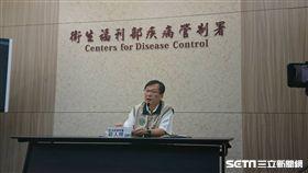 疾管署副署長莊人祥今(14)日說明新北首例本土登革熱個案情形。(圖/記者楊晴雯攝)