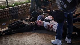 香港,反送中,聯合國,公正調查,武力攻擊(圖/中央社)