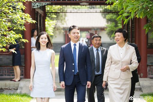 劉強東,奶茶妹 微博