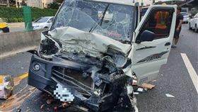 國道,國道1號,車禍,追撞,小貨車,轎車