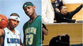 NBA/齊名詹皇!他遭判刑崩潰失控 NBA,Sebastian Telfair,LeBron James,槍枝,入獄,崩潰 翻攝自推特