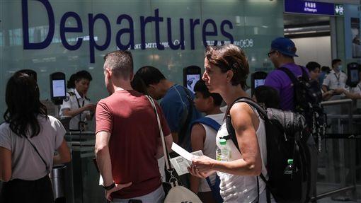 香港機場,癱瘓,集會,機票,禁制令
