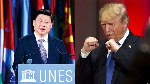 中美貿易戰,皮尤,貿易緊張,感度驟降,美中戰略(圖/翻攝自微博)