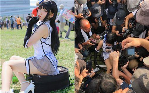 日本,中國女Coser(圖/翻攝自推特) ID-2072961