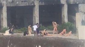 彰化,天體營,廢墟,舞者,裸拍