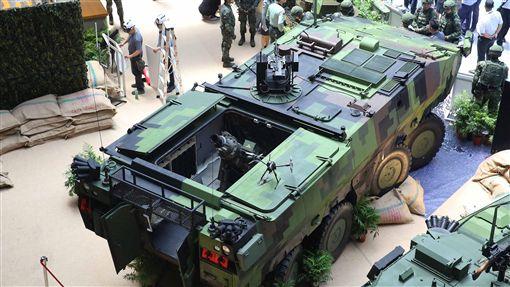 軍備局,雲豹八輪甲車M2樣車,國防展,無人機,前觀系統作戰