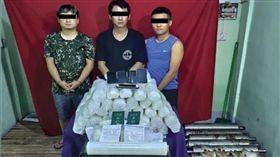 2台男運74公斤冰毒!緬甸警突襲逮人 下場恐被處死刑 圖翻攝自BNI multimedia group