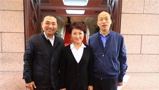 盧秀燕、韓國瑜、侯友宜/中市府提供
