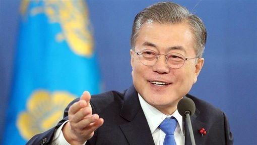 南韓總統,文在寅,結束分裂,經濟強國,攜手合作(圖/翻攝自文在寅推特)