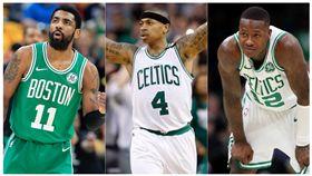 NBA/暗諷厄文?他:矮湯是真綠血 NBA,波士頓塞爾提克,Kyrie Irving,Terry Rozier,Isaiah Thomas 翻攝自推特