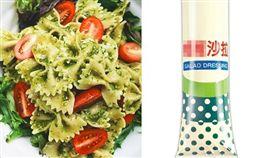 沙拉,美乃滋,白醋,醬料(翻攝自Pixabay)