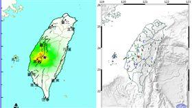 快訊/中台灣被搖醒!05:41嘉義規模4.6地震 圖翻攝自中央氣象局