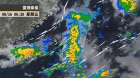 西南風,彭啟明,氣象,下雨,天氣(圖/翻攝自彭啟明臉書)